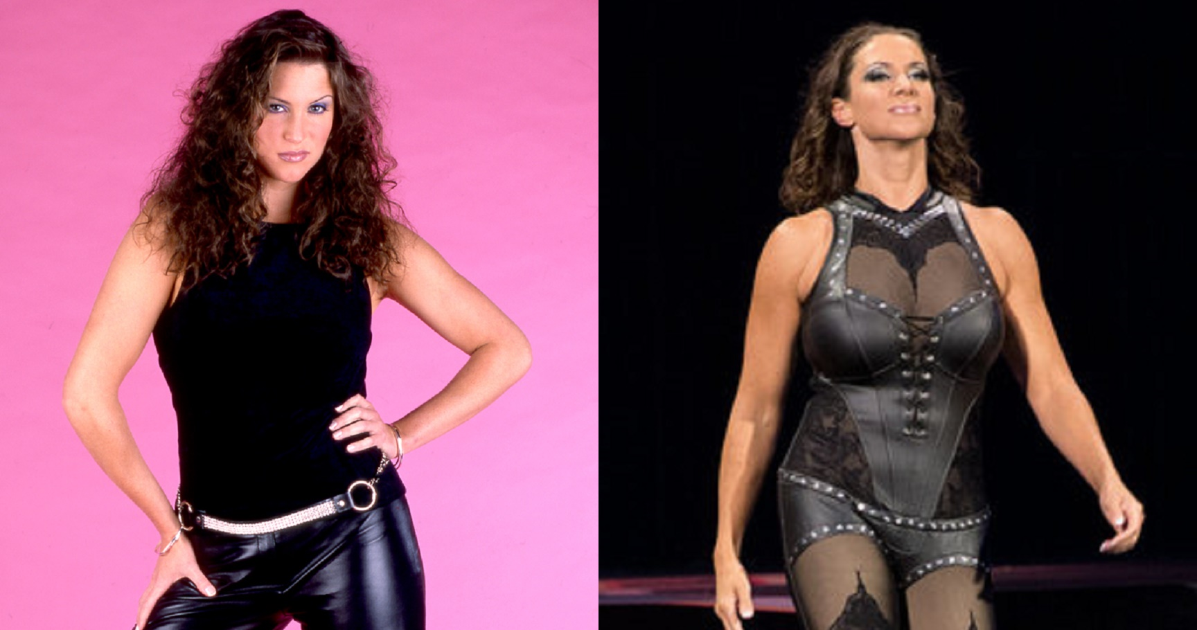 Image result for stephanie mcmahon then and now