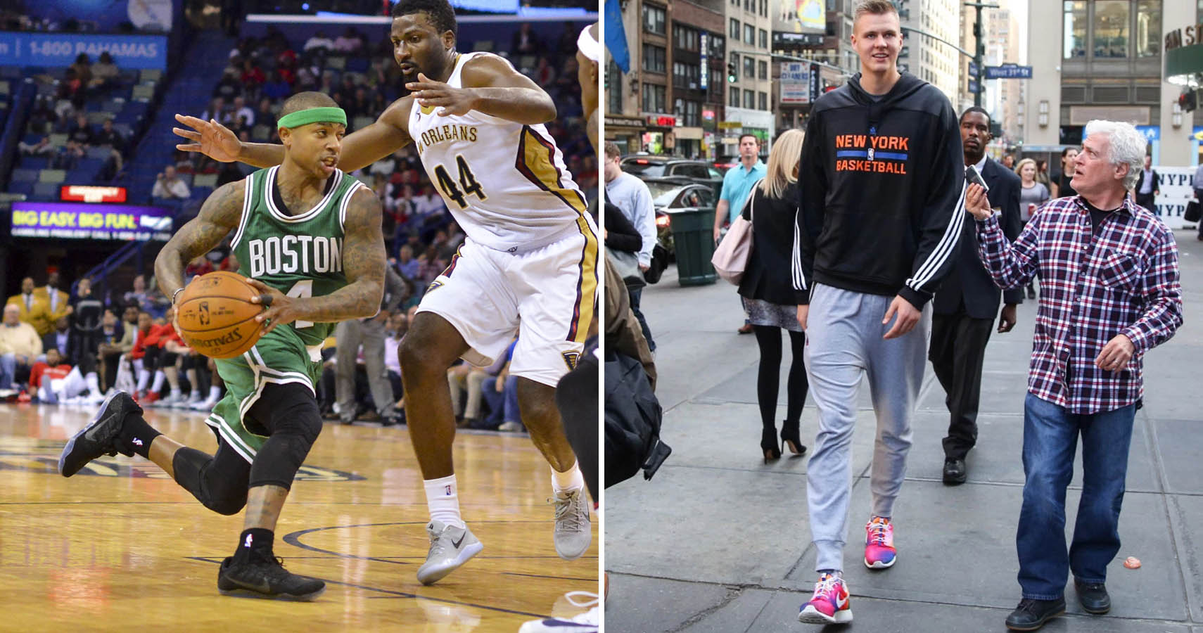 The 8 Tallest And 7 Shortest NBA Players Today