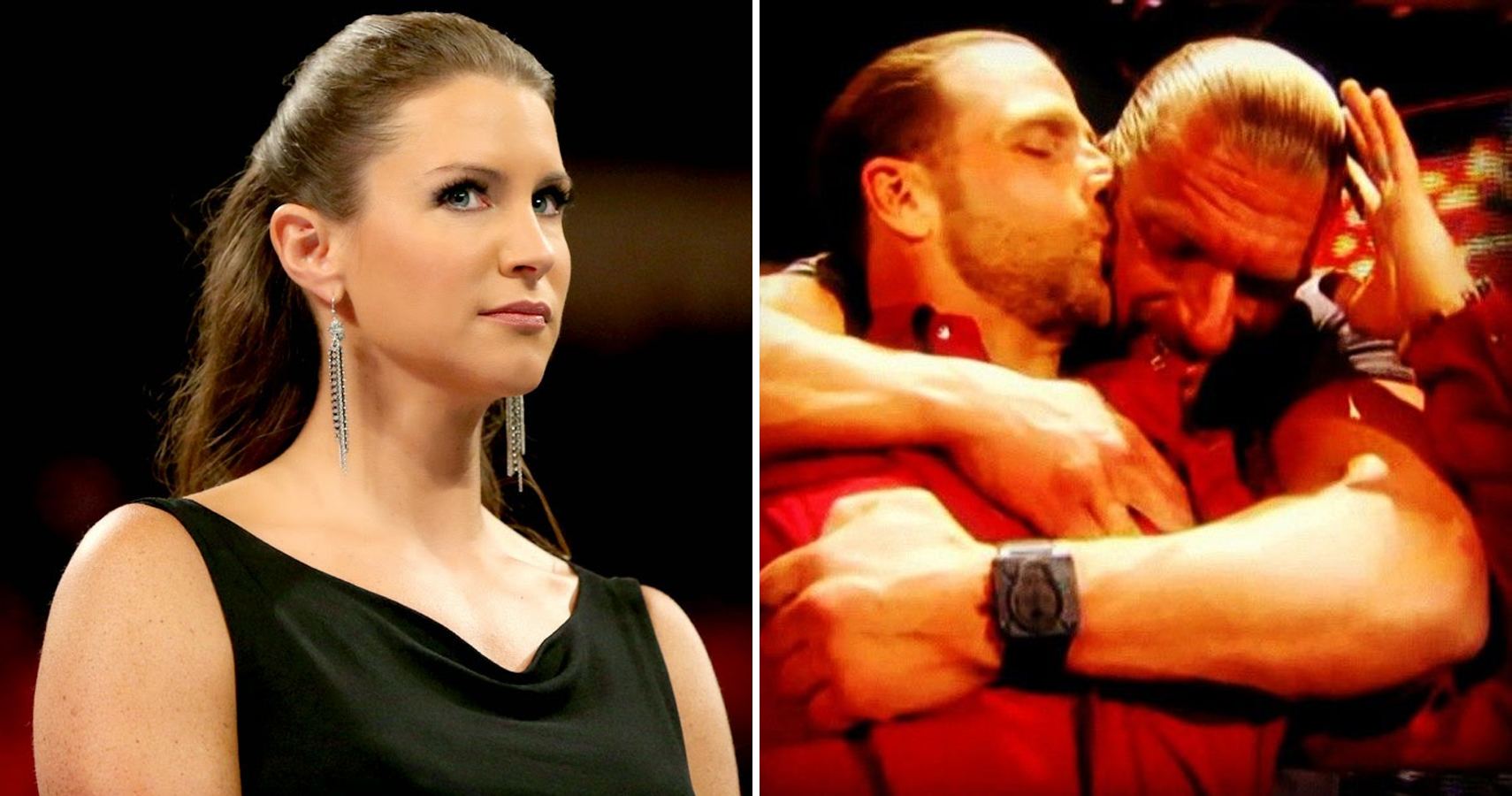 Stephanie McMahon once thought Triple H was gay with Shawn