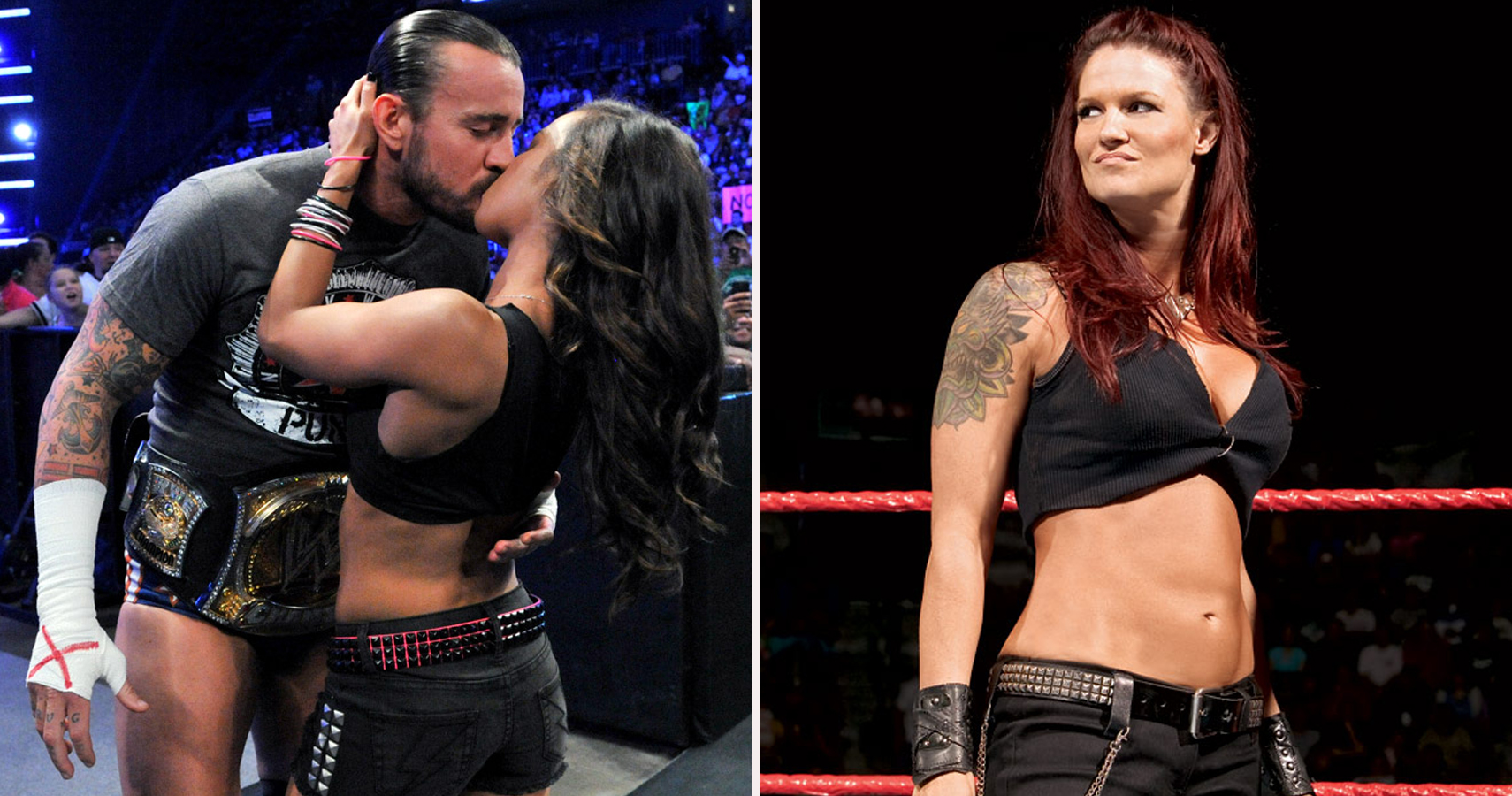 lita and edge in hidden fuck