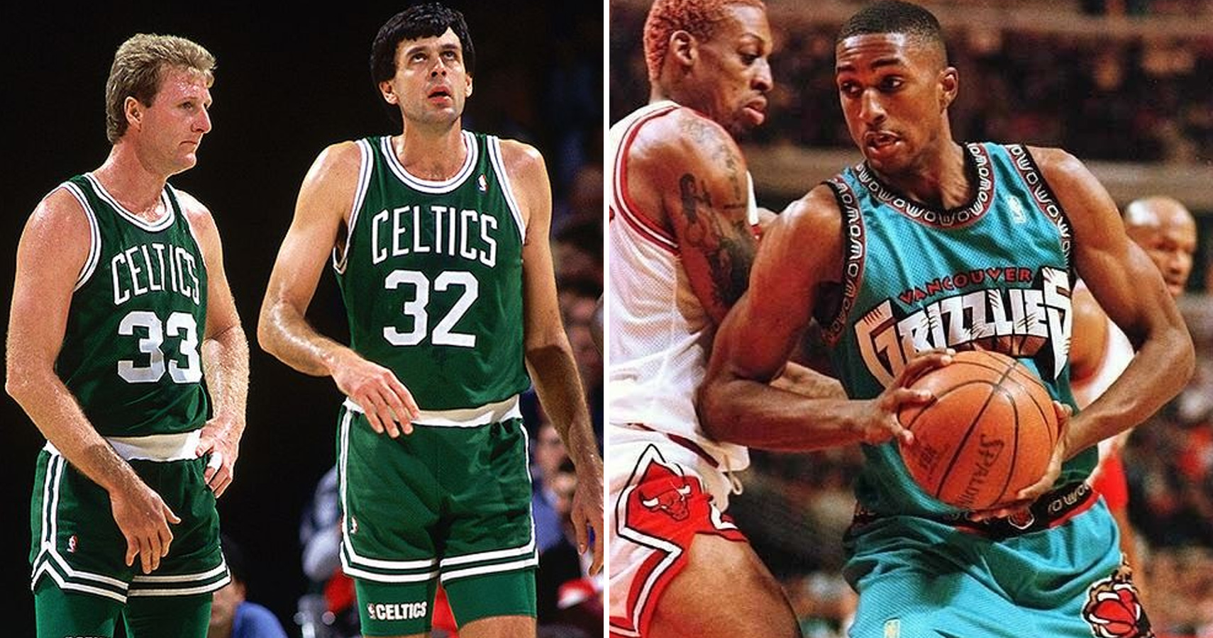 The 8 Best And 7 Worst NBA Frontcourts of All Time