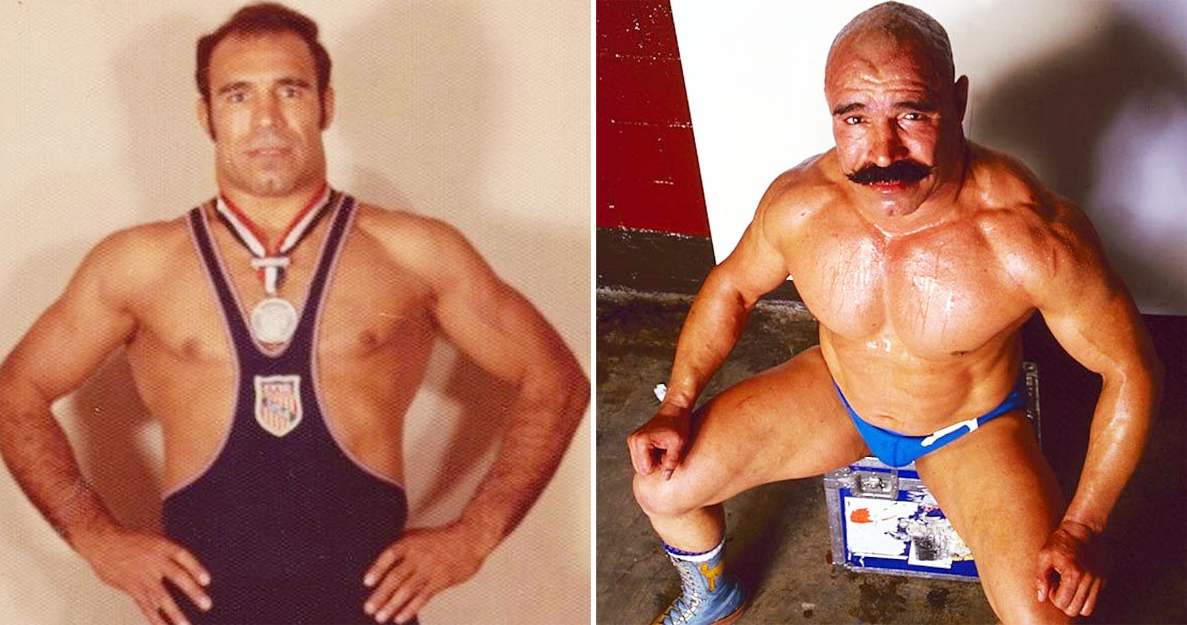 Before WWE Wrestlers Who Looked Nothing Like They Did At Their - Famous wwe wrestlers looked completely different