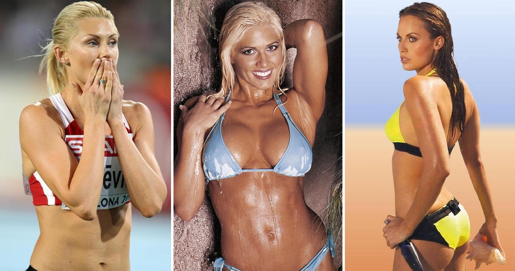 olympic athletes nude in playboy