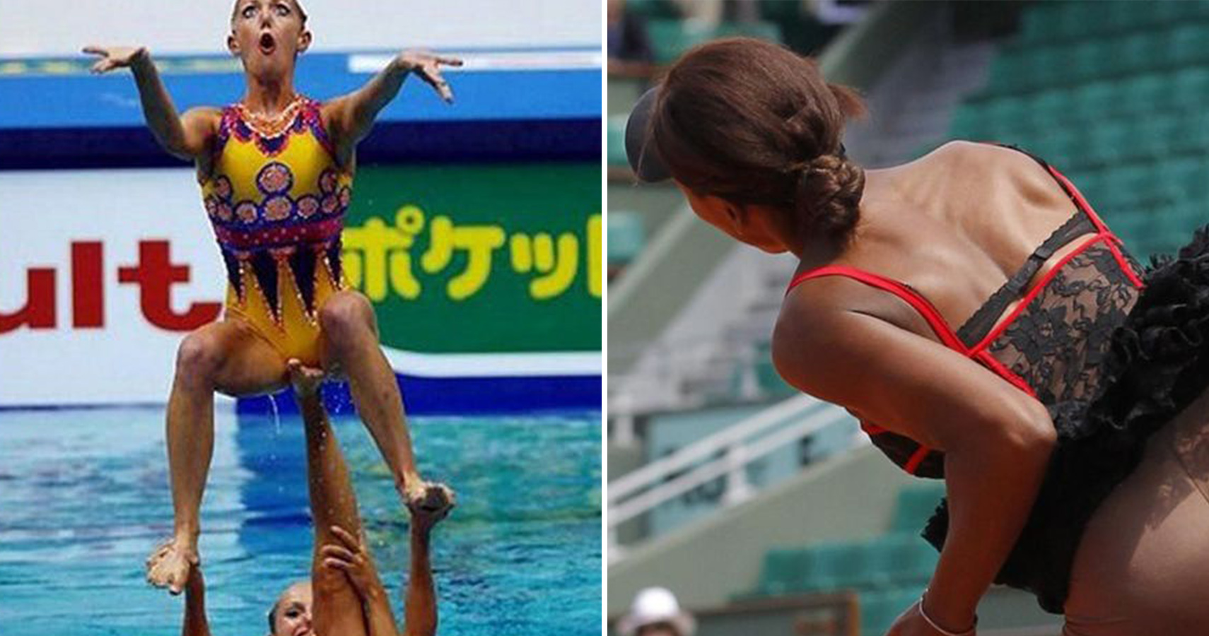 Most Embarrassing Pictures Of Female Athletes Ever Taken