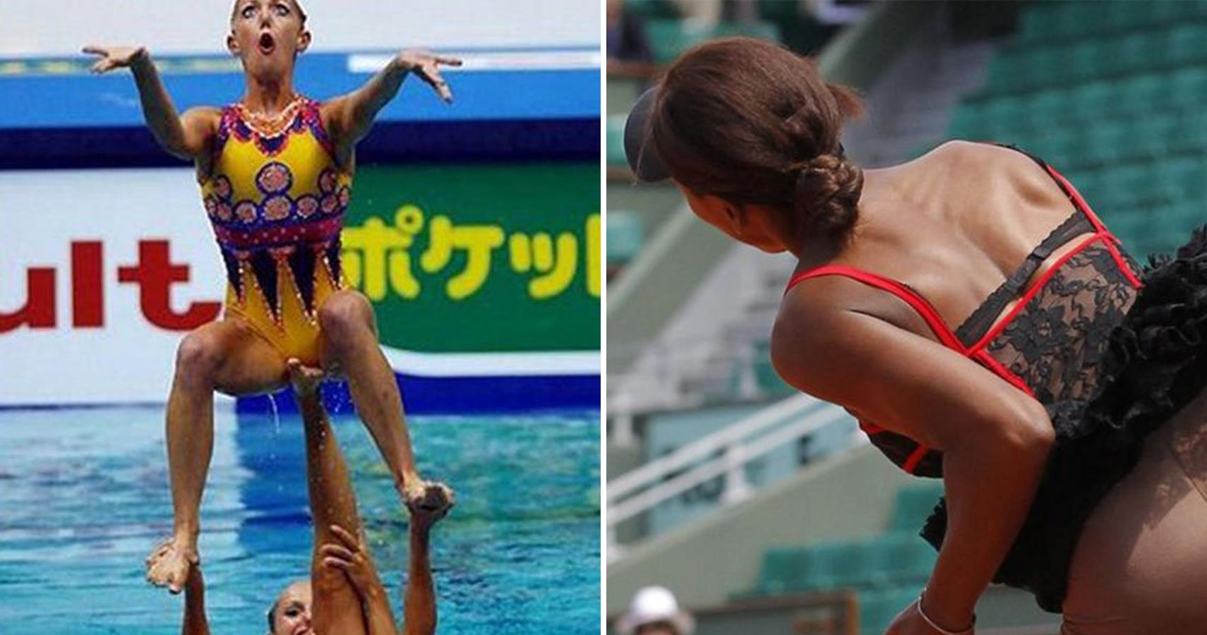 Female Gymnast Wardrobe Malfunctions The Perfect