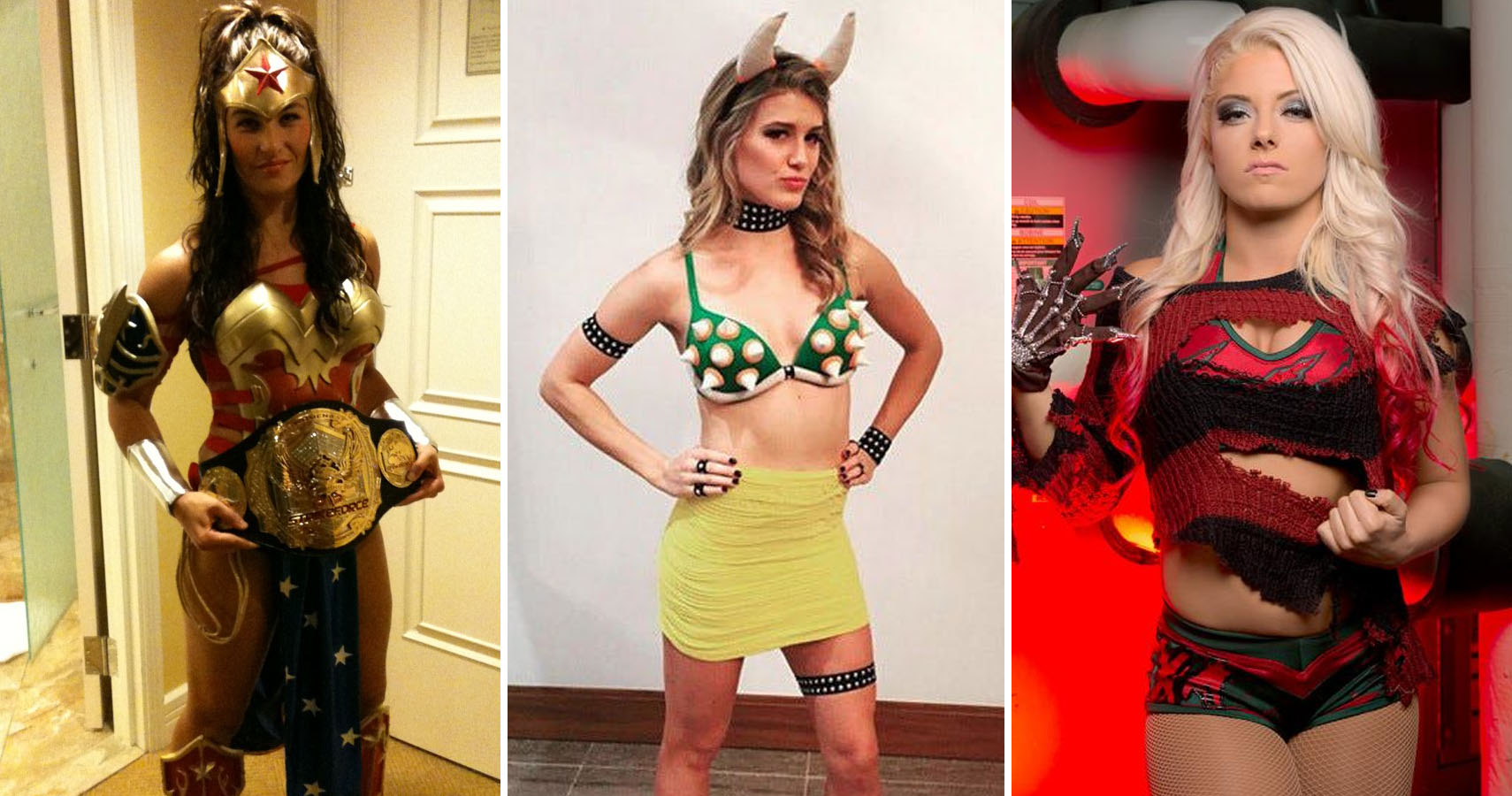 Photos Of Female Athletes In Halloween Costumes
